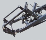 Frontlader Gerätebetätigung