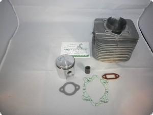 Zylinder und Kolben im Tausch AS 2-Takt Motor 4,4kW (6PS) 60,5mm/61mm