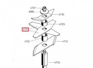 Flachmesser Häckslermesser Messer für Häcksler Gartenhäcksler AS Motor Samix Junior S-E FJ 2.0 2.6 2.0/2 und 2.6/2