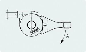 Gas-Regulierhebel Gashebel Magura