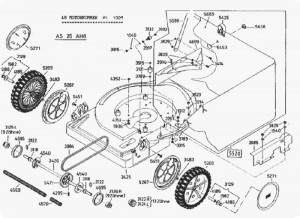 Antriebsstrang Antrieb Baugruppe komplett für AS 26 AH8, AS 26 AH9, und AS 26 AH 9/3
