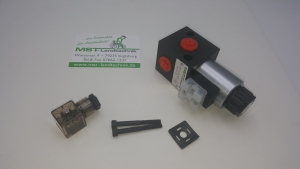 Umschalten von Frontladerhubzylinder auf Kipperanschluss per Knopfdruck mit diesem Ventil