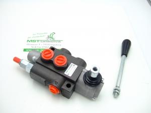 Steuergerät Hydraulik 40L 1-fach EW, DW mit Schwimmstellung wählbar -3/8 Anschlüsse