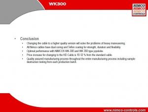 Nimco HD Seilzug 1500mm mit Gewinde M6 und Kugelkopf, bessere Qualität