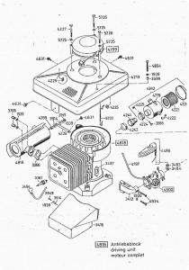 Luftfilter für alle älteren AS-Motor Schnorchelluftfilter 30-421