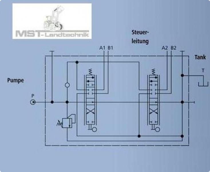 Holzspalter Hydraulik Schaltplan