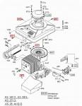 M6 Sechskantschraube mit Sperrverzahnung G00009016