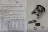 Kolbenkit Ø60,45mm E06608 E10496 Übermaßkolben AS Motor original Ware Mäher AS 26 2 Takt Kolben für Zylinder