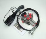 Steuergerät für Frontlader Hydraulikventil 1xdw 1xew 60l/min inkl. Druckweiterführungsbuchse