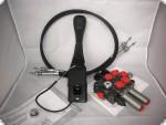 Hydraulikventil Steuergerät für Frontlader 2xdw 60l/min inkl. Dauerdruckstößel John Deere