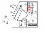 Stanz- u. Einpressmutter im Tankdeckel Kraftstoffdeckel