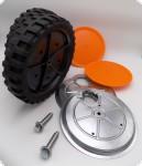 Räder Baugruppe mit Abdeckungen und Radschraube, Buchse für AS 26 AH8, AS 26 AH9, und AS 26 AH 9/3