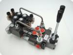Hydraulikventil hydraulisch vorgesteuertes Ventil 2-fach Elektrisch 12 V vorgesteuerter Monoblock feinfühlig Frontlader Steuerung