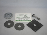 Befestigungsset für AS Motor Messer mit Sicherungsblech, Reibscheiben, Druckteller, Schraube