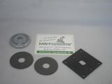 Befestigungsset für AS Motor Messer mit Sicherungsblech, Reibscheiben, Druckteller