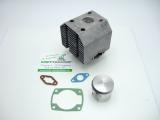 Zylinder und Kolben im Tausch AS 2-Takt Motor 2,9kW (4PS) 54,5mm oder 55,0mm