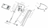 Motorbremszug für Mulch-Rasenmäher AS 460 AS Motor