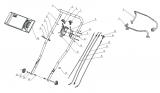 3-Gang Antriebszug für Mulch-Rasenmäher AS 460 AS Motor
