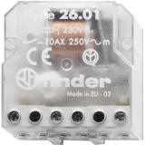 Stromstoß-Schalter Finder 26.01.8.012.0000 1 Schließer 12 V/AC 10A