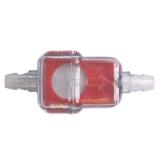 Benzinfilter klein Polisport-farbig. Eckig Durchmesser 6 mm