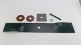 Messerset 50cm AS 21  AS 21 AH1/4T und AS 21 4T B&S, Messer, Schraube, Sperrkantscheibe, Druckplatte, Druckteller & Gleitscheibe