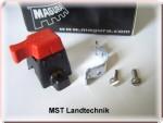 Stoppschalter Ein/Aus Schalter Motor Stopp Magura mit Klemmbefestigung 23-119 passt an WOLF, AS-Motor, Gutbrod, Agria